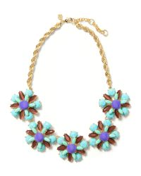 Banana Republic - Multicolor Corsage Necklace - Lyst
