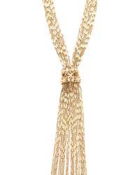 Iam By Ileana Makri - Metallic Figaro Lariat Necklace - Lyst