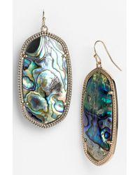 Kendra Scott | Multicolor Danielle Large Oval Statement Earrings | Lyst