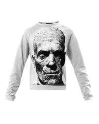 Christopher Kane | Gray The Mummy print Sweatshirt | Lyst