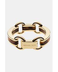 MICHAEL Michael Kors | Metallic Kempton Link Bracelet | Lyst