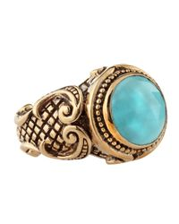 Stephen Dweck - Blue Shieldset Turquoise Ring - Lyst