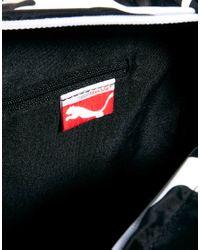 PUMA - Black Sole Messenger Bag for Men - Lyst