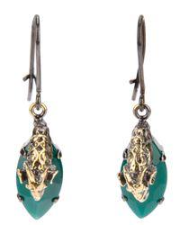 Iosselliani | Metallic Clip On Rams Head Earrings | Lyst