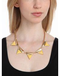 BaubleBar Yellow Sun Collar