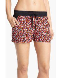 Kensie | Black Summer Safari Boxer Shorts | Lyst