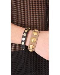 Rag & Bone - Black Bellwether Bracelet - Lyst