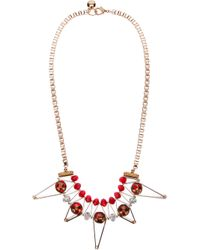 Scho | Metallic 'star' Necklace | Lyst
