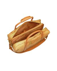 Alviero Martini 1A Classe | Brown 1a Prima Classe - Double Compartment Zip Travel Bag | Lyst