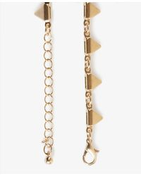 Forever 21 - Metallic Spiked Necklace - Lyst
