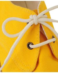 Forever 21 - Yellow Canvas Espadrille Shoes - Lyst