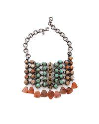 DANNIJO - Multicolor Rosko Bib Necklace - Lyst
