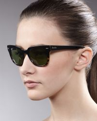 Ray-Ban | Yellow Folding Icons Wayfarer Sunglasses | Lyst