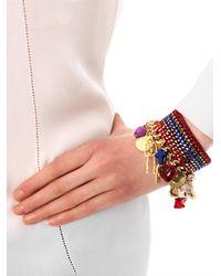 Venessa Arizaga - Metallic Forgive and Forget Charm Bracelet - Lyst