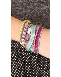 Hipanema | Purple Cannes Bracelet | Lyst