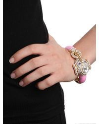 BaubleBar | Pink Queen Celeste Elephant Bangle | Lyst