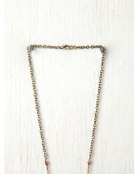 Free People | Purple Double Layer Rosary | Lyst