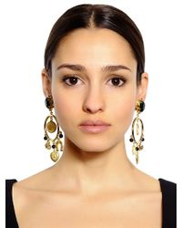 Dolce & Gabbana | Black Clip Drop Earrings | Lyst