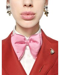 DSquared² - Multicolor Swarovski Clip On Earrings - Lyst