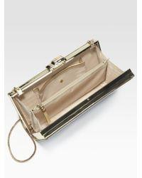 Kate Spade | White Road Trip License Plate Box Clutch Bag | Lyst