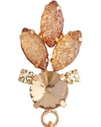 Lulu Frost - Metallic Althea Crystal and Glass Earrings - Lyst