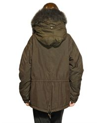 Mr & Mrs Italy | Brown Murmansky and Lapin Mini Parka | Lyst