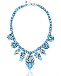Shourouk | Blue Holy Brandeis Necklace | Lyst