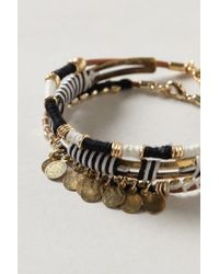 Anthropologie | Multicolor Antiquarian Bangle Set | Lyst