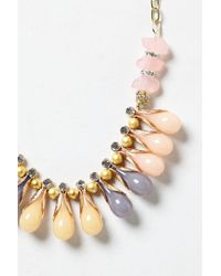 Anthropologie | Pink Berry Drop Necklace | Lyst