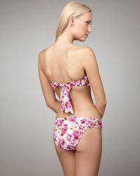 Nanette Lepore | Pink Madison Avenue Bikini Bottom | Lyst