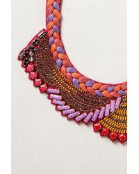 Ranna Gill - Pink Manori Bib Necklace - Lyst