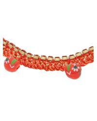 Venessa Arizaga - Orange '1979' Necklace - Lyst