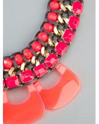 Marina Fossati - Orange Beaded Statement Necklace - Lyst