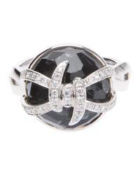 Stephen Webster - Black Woven Diamond Ring - Lyst
