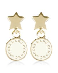 Marc By Marc Jacobs - Metallic Star Drop Earrings - Lyst