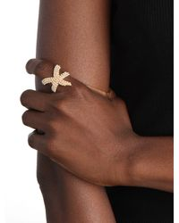 BaubleBar | Metallic Ivory Sea Star Ring | Lyst