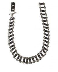 AllSaints - Metallic Daumier Necklace - Lyst