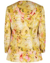 Ted Baker - Natural Nerys Tea Party Print Jacket - Lyst