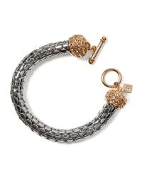 Banana Republic - Metallic Toggle Bracelet - Lyst