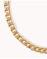 Forever 21 - Metallic Streetchic Curb Chain Necklace - Lyst