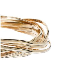 ASOS Collection - Metallic Limited Edition Russian Stack Bangles - Lyst