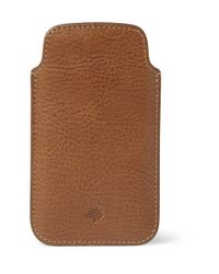Mulberry - Brown Leather Iphone 5 Cover for Men - Lyst