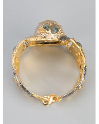 Alexis Bittar - Metallic Allegory Large Wrapped Bracelet - Lyst