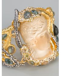 Alexis Bittar - Metallic Allegory Large Wrapped Bracelet - Lyst