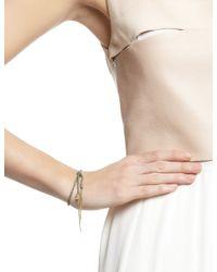 Carolina Bucci | Green Gold Lucky Tie Wisdom Bracelet | Lyst