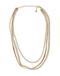 H&M | Metallic Chain Necklace | Lyst