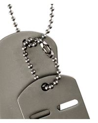 H&M | Gray Necklace for Men | Lyst