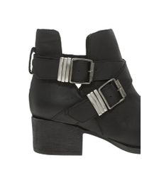 Steve Madden - Black Ankle Boots - Lyst
