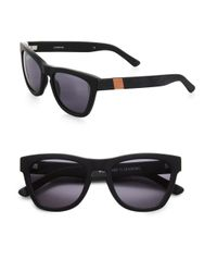 Westward Leaning - Black Children Of California Acetate Square Sunglasses - Lyst