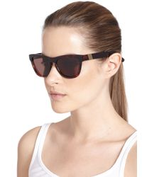 Westward Leaning - Multicolor Louisiana Purchase Acetate Square Sunglasses - Lyst